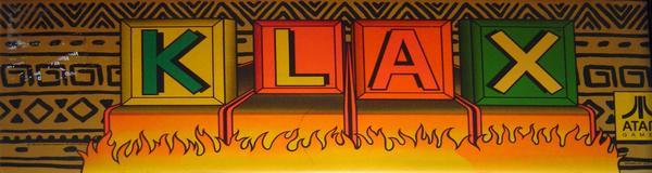 KLAX - Videogame by Atari Games