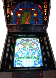 Super Pinball Action Videogame By Tecmo