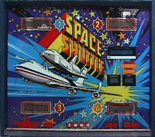 Space Shuttle - Pinball by Zaccaria