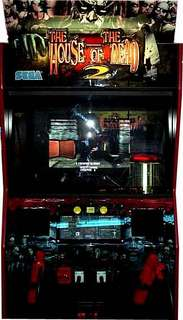 house of the dead 2 arcade machine
