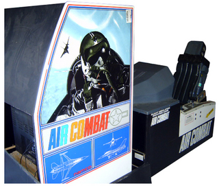 Air Combat Videogame By Namco