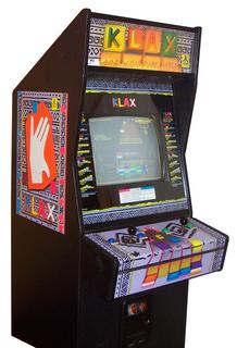 KLAX  Videogame by Atari Games