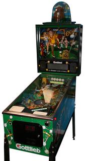 Teed Off Pinball By Premier Gottlieb