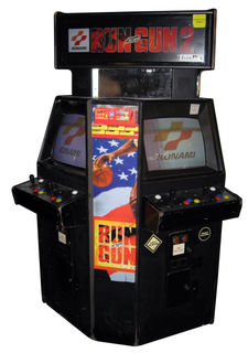 Run and gun 2 videogame by konami run and gun 2 cabinet image voltagebd Image collections