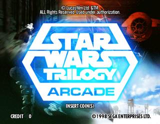 Star Wars Pinball Machine >> Star Wars Trilogy Arcade - Videogame by Sega