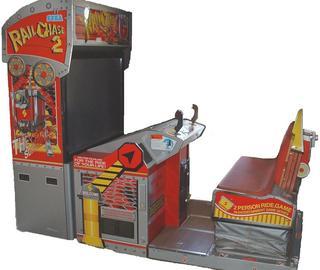 Rail Chase 2 Videogame By Sega