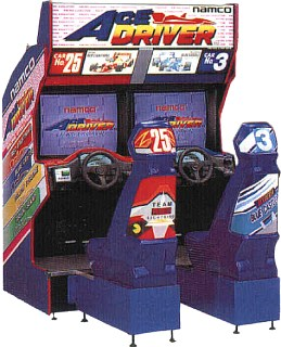 1994 Namco Ace Driver Video Flyer Mint Collectibles