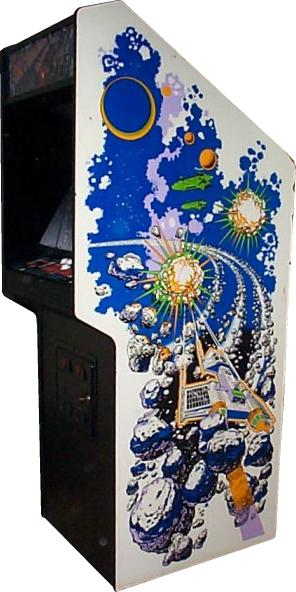 Asteroids Deluxe Videogame By Atari