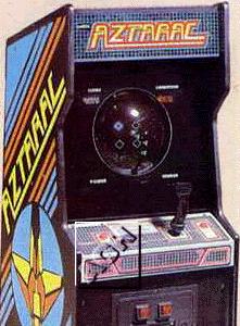 Aztarac Videogame By Centuri