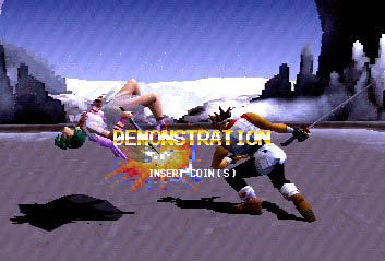 Battle Arena Toshinden 2 Videogame By Capcom