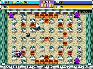 bomberman world arcade