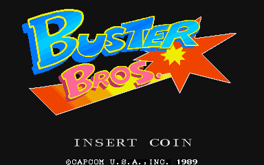 Buster Bros. - Title screen image