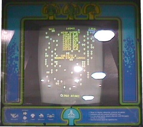Centipede Videogame By Atari