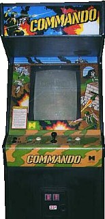 Commando Videogame By Capcom