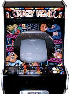 Crazy Kong Videogame By Falcon