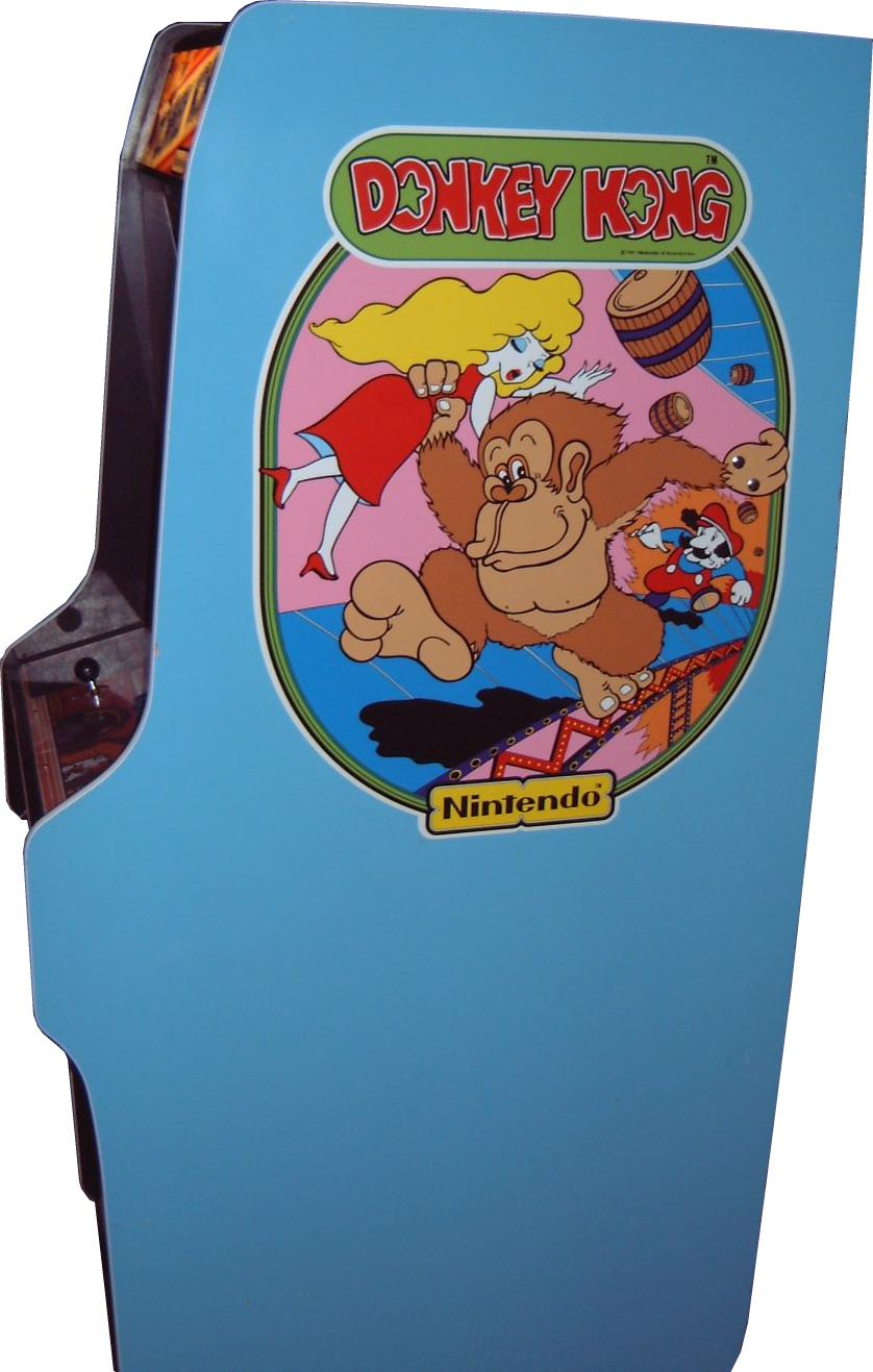 Vintage Arcade Games >> Donkey Kong - Videogame by Nintendo