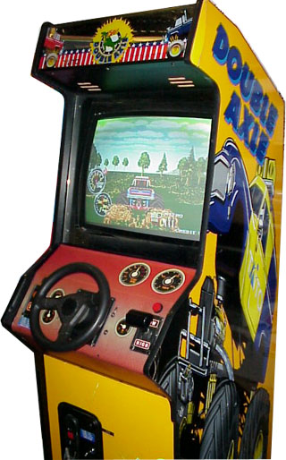 Double Axle Videogame By Taito
