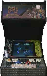 double dragon 2 arcade controls