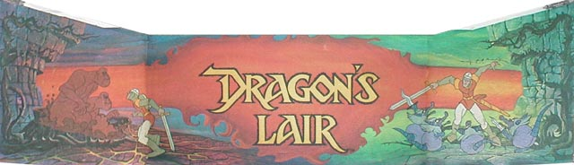 Dragon's Lair - marquee