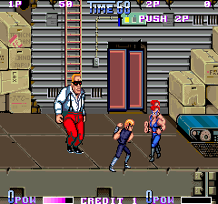 Double Dragon Ii The Revenge Videogame By Technos