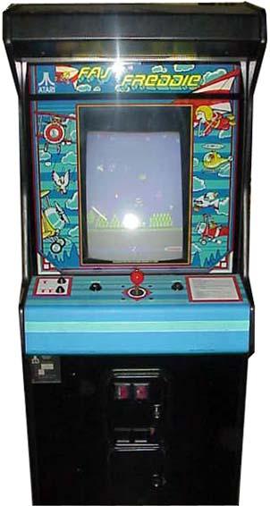 Fast Freddie Videogame By Atari