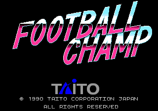 Football Champ (Taito)