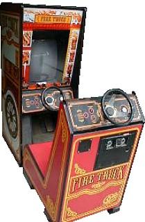 fire truck videogame by atari rh arcade museum com