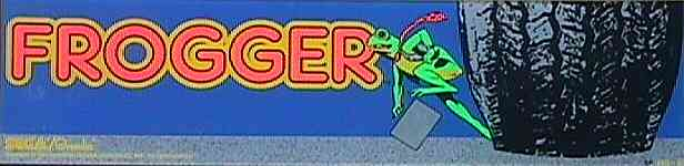 Frogger - marquee
