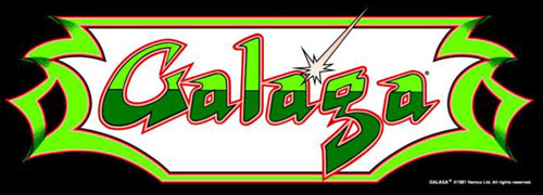 Galaga - marquee