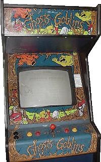 Ghosts N Goblins Videogame By Capcom