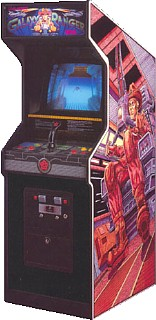 Galaxy Ranger Videogame By Bally Midway