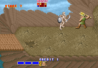 Golden Axe - Title screen image