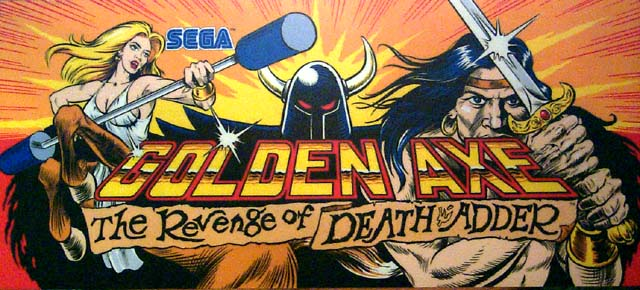 Golden Axe The Curse of Death Adder OPENBOR TO PS4