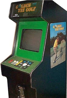 golden tee arcade game