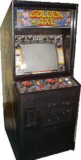Golden Axe Videogame By Sega