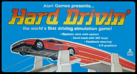 Atari coin operated video driving game steering shaft