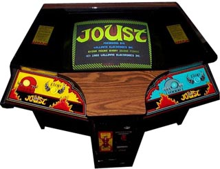 Joust Videogame By Williams Electronics Inc 1967 1985