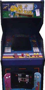Jr Pac Man Videogame By Bally Midway