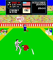 """Karate Champ Arcade Marquee 26/""""x8/"""""""
