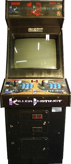 Set Of Midway Arcade Game Cabinet Glass Marquee Monitor
