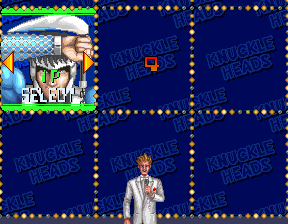 Namco Knuckle Heads Arcade Video Game Side Art-set Of 2-original-rare Arcade, Jukeboxes & Pinball Collectibles
