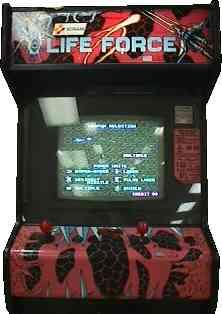 Lifeforce Videogame By Konami