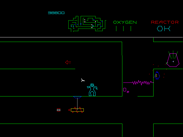 Vintage Arcade Games >> Major Havoc - Videogame by Atari