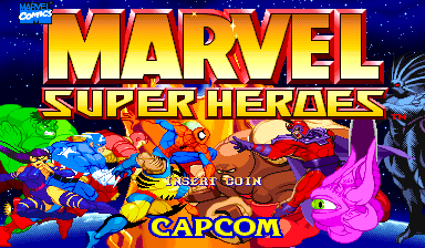Marvel Super Heroes - Videogame by Capcom