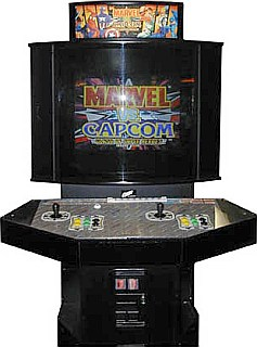 Marvel Vs. Capcom   Cabinet Image