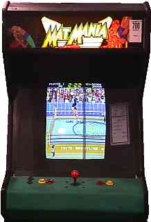 Mat Mania Videogame By Taito