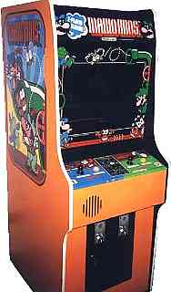 mario brothers arcade machine