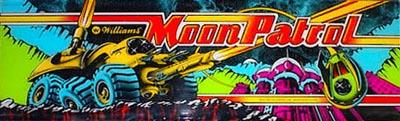 Moon Patrol - marquee
