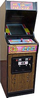 Ms Pac Man Videogame By Midway Manufacturing Co