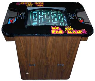miss pacman machine